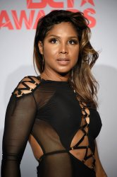 Toni Braxton appears backstage at the BET Awards in Los Angeles