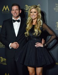 Tarek and Christina El Moussa attend the 44th Annual Daytime Emmy Awards