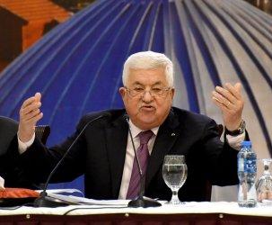 Palestinian President Mahmoud Abbas Responds To Trump's Peace Plan