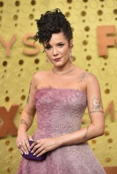 Halsey attends Primetime Emmy Awards in Los Angeles