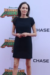 "Angelina Jolie attends the ""Kung Fu Panda 3"" premiere in Los Angeles"