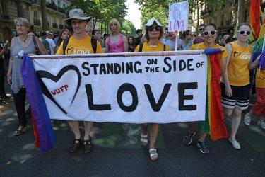Gay Pride Parade in Paris