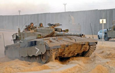 ISRAEL ENTERS NORTHERN GAZA STRIP