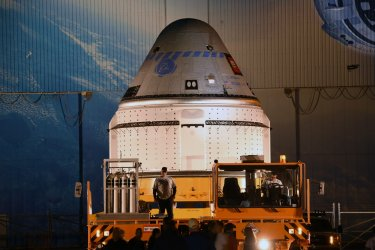 Boeing Starliner rolls out in preparation for test mission