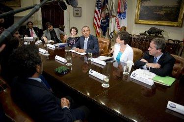 Obama Meeting on Immigration Reform in Washington