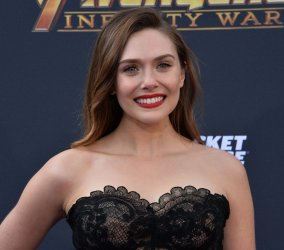 "Elizabeth Olsen atends the ""Avengers: Infinity Wars"" premiere in Los Angeles"