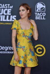 "Tallulah Willis attends the Comedy Central  ""Roast of Bruce Willis"" in Los Angeles"