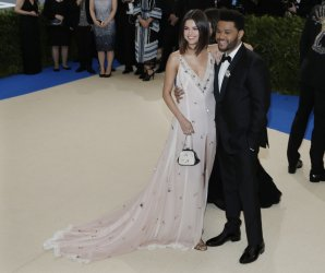 Selena Gomez and The Weeknd at the Met Costume Institute Benefit