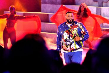 DJ Khaled performs during the 19th annual BET Awards in Los Angeles