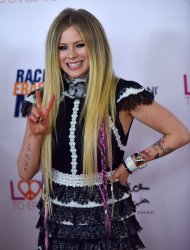 Avril Lavigne attends Race to Erase MS gala in Beverly Hills