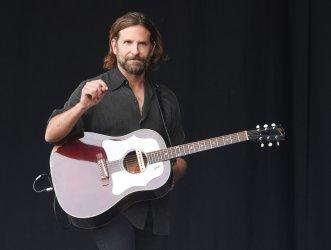 Bradley Cooper performs at Glastonbury Festival