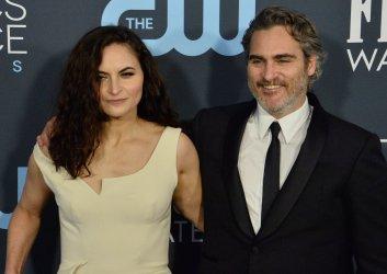 Rain Phoenix and Joaquin Phoenix attend the Critics' Choice Awards in Santa Monica