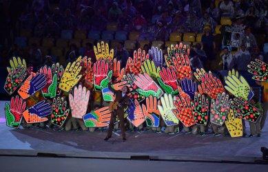 Closing Ceremony at the 2016 Rio Summer Olympics