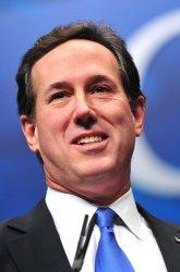 Presidential Candidate Rick Santorum speaks at CPAC in Washington