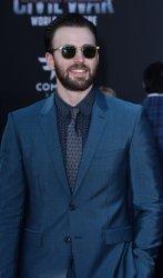 "Chris Evans attends the ""Captain America: Civil War"" premiere in Los Angeles"