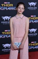 "Mackenzie Foy attends the ""Thor: Ragnarok"" premiere in Los Angeles"