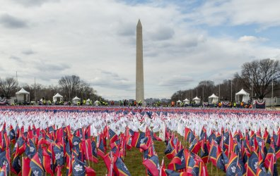 Field of Flags Display on the National Mall