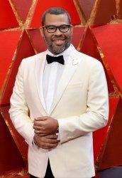 Jordan Peele arrives for the 90th annual Academy Awards in Hollywood