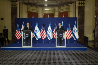 U.S. Secretary of State Mike Pompeo Visits Israel