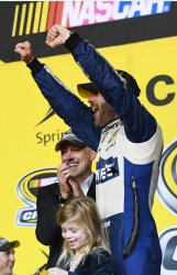 NASCAR Ford EcoBoost 400 Championship  in Homestead, Florida.