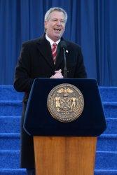 Bill de Blasio begins second term as Mayor of New York