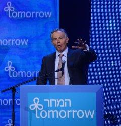 Tony Blair At Israeli Presidential Conference, Jerusalem