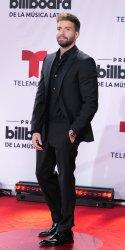 Pablo Alboran walks the red carpet at the 2020 Latin Billboard Awards in Sunrise, Florida