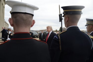 US President Trump swears in General Mattis as US Defense Secretary