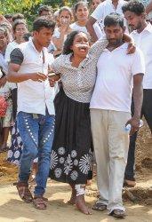 Mass Burial For Bombings Victims of Sri Lanka Bombings..