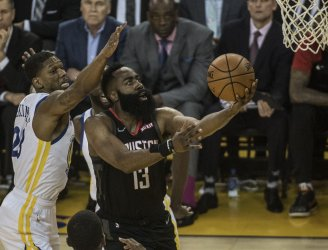Golden State Warriors vs. Houston Rockets Game 1