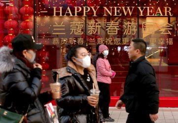International shopping mall remains quiet due to virus in Beijing, China
