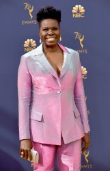 Leslie Jones attends the 70th annual Primetime Emmy Awards in Los Angeles