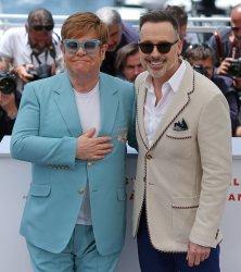 Elton John and David Furnish attend the Cannes Film Festival