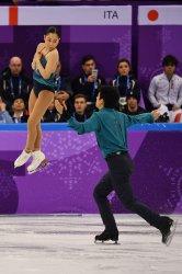 Pair's Skating Short Program at Pyeongchang 2018 Winter Olympics