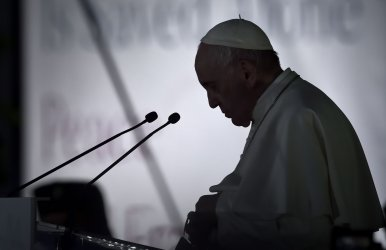 Pope Francis Leads a Prayer for Peace with Various Religious Leaders