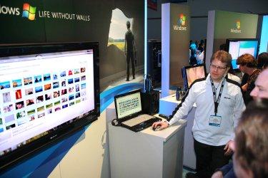 Microsoft Debuts Windows 7 Software at Consumer Electronics Show in Las Vegas