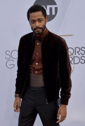 Lakeith Stanfield attends the SAG Awards in Los Angeles