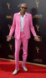 RuPaul attends the Creative Arts Emmy Awards in Los Angeles