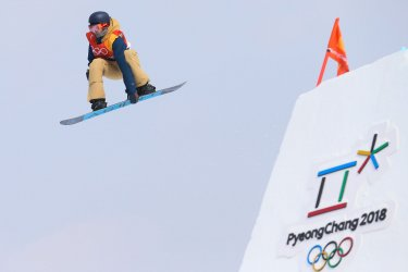Belgian Smits in slopestyle at Pyeongchang 2018 Winter Olympics
