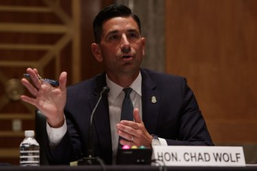 Acting DHS Secretary Chad Wolf testifies on Capitol Hill