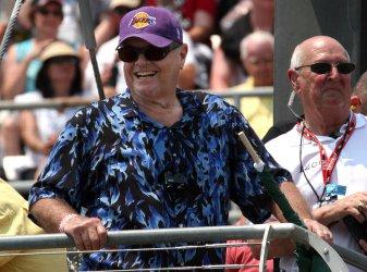 Jack Nicholson Starts Indianapolis 500