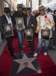 Kool & The Gang Star receive star on the Hollywood Walk of Fame