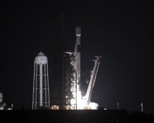 SpaceX Launches Starlink and BlackSky Global from the Kennedy Space Center