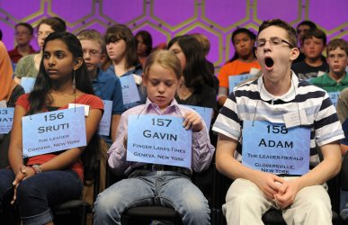 Youngsters compete in Scripps National Spelling Bee