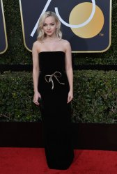 Dove Cameron attends the 75th annual Golden Globe Awards in Beverly Hills