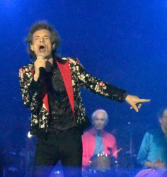The Rolling Stones At The Hard Rock Stadium in Miami Gardens
