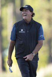Phil Mickelson at the Masters