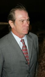 ACTOR, TOMMY LEE JONES AT MIAMI PROJECT TO CURE PARALYSIS FASHION SHOW BENEFIT