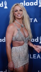 Honoree Britney Spears attends the 29th annual GLAAD Media Awards in Beverly Hills, California