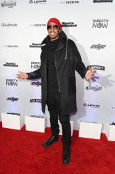 Nick Cannon at the Sports Illustrated Swimsuit launch in New York